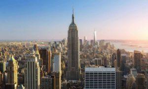 Знаменитые здания: Эмпайр Стейт Билдинг в Нью-Йорке