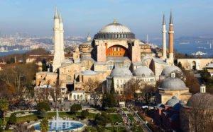Знаменитые здания: Собор Святой Софии в Стамбуле