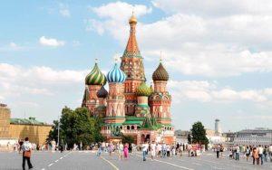 Знаменитые здания: Собор Василия Блаженного в Москве
