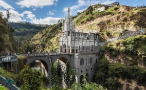 Святилище Лас Лахас в Колумбии: известные здания