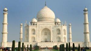 Знаменитые здания: Тадж-Махал в Агре