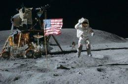 Высадка американцев на луну