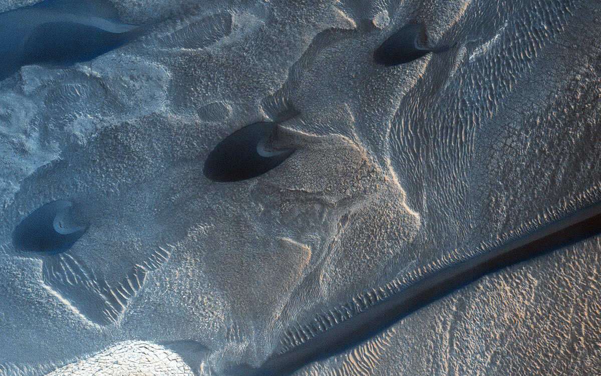 Северная полярная шапка Марса