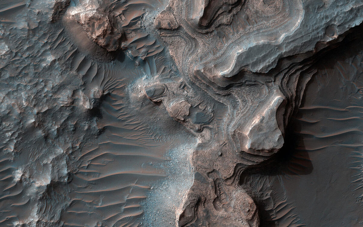 Отложения на Марсе