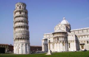 Знаменитые здания: Пизанская башня