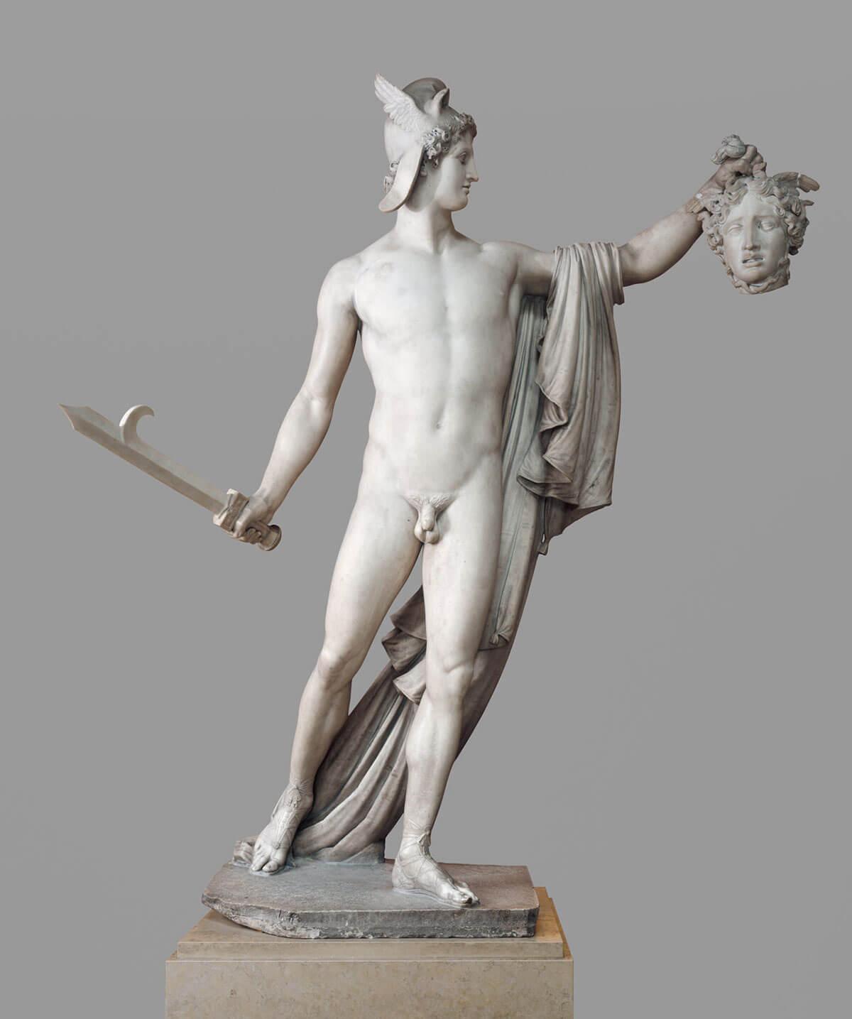 известные скульптуры: Персей