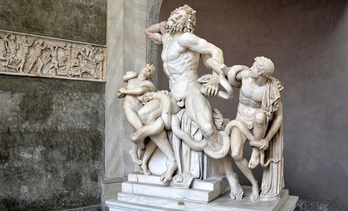 Лаокоон и его сыновья