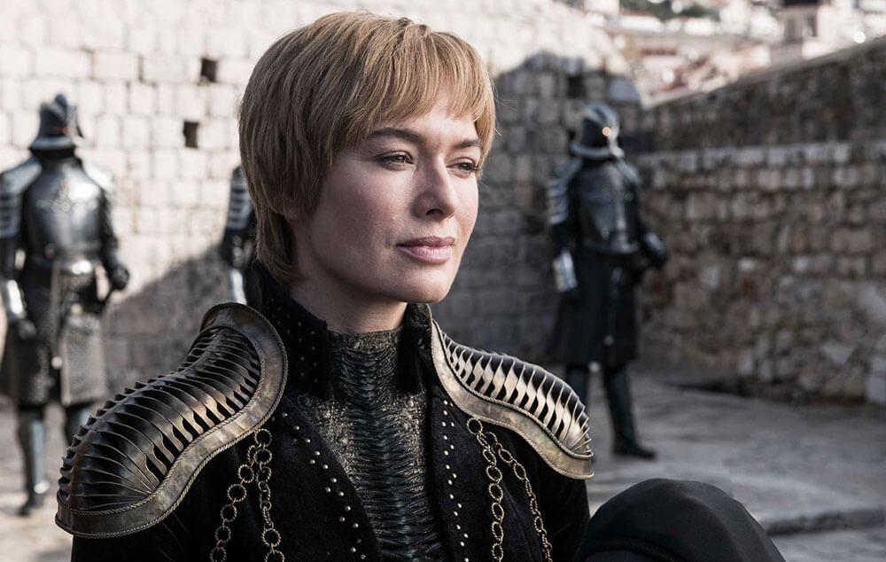 Королева Серсея в 8 сезоне Игры престолов.