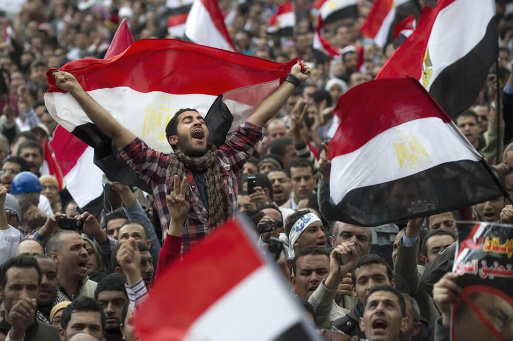 Протесты Арабская весна
