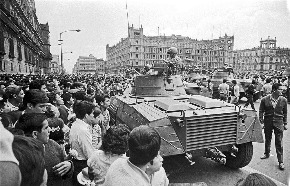 Протесты 1968 года, ЛОНДОН, Великобритания