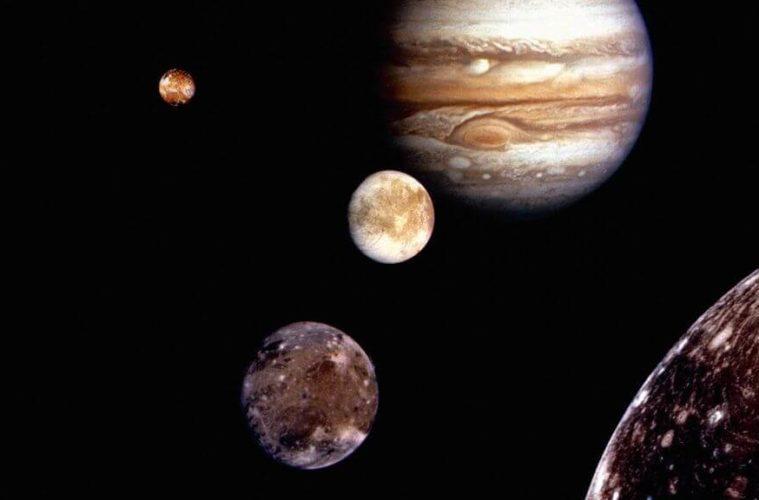 Юпитер и его спутники