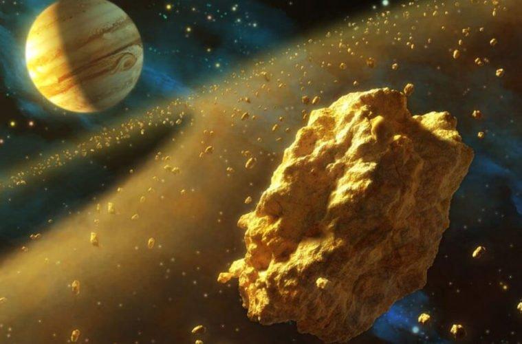 золотой астероид