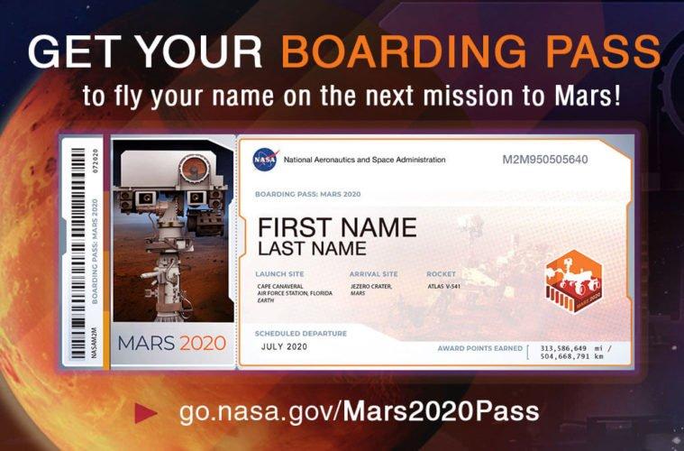 имя на марс