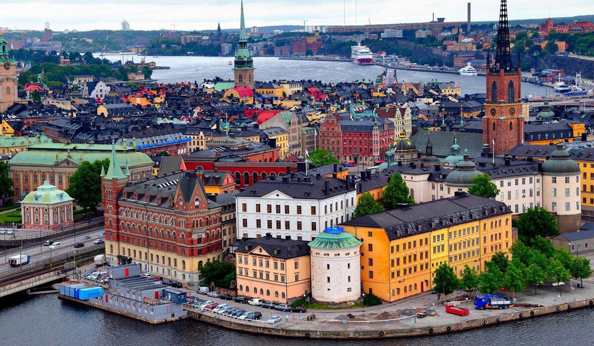 Швеция чистый город