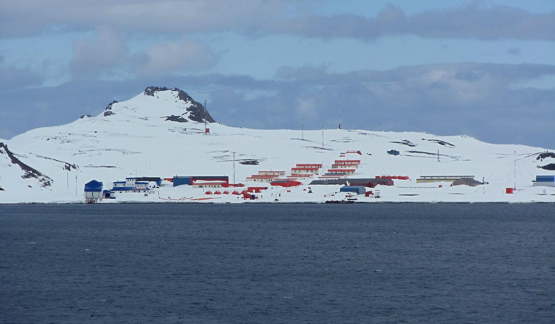 деревня в Антарктике