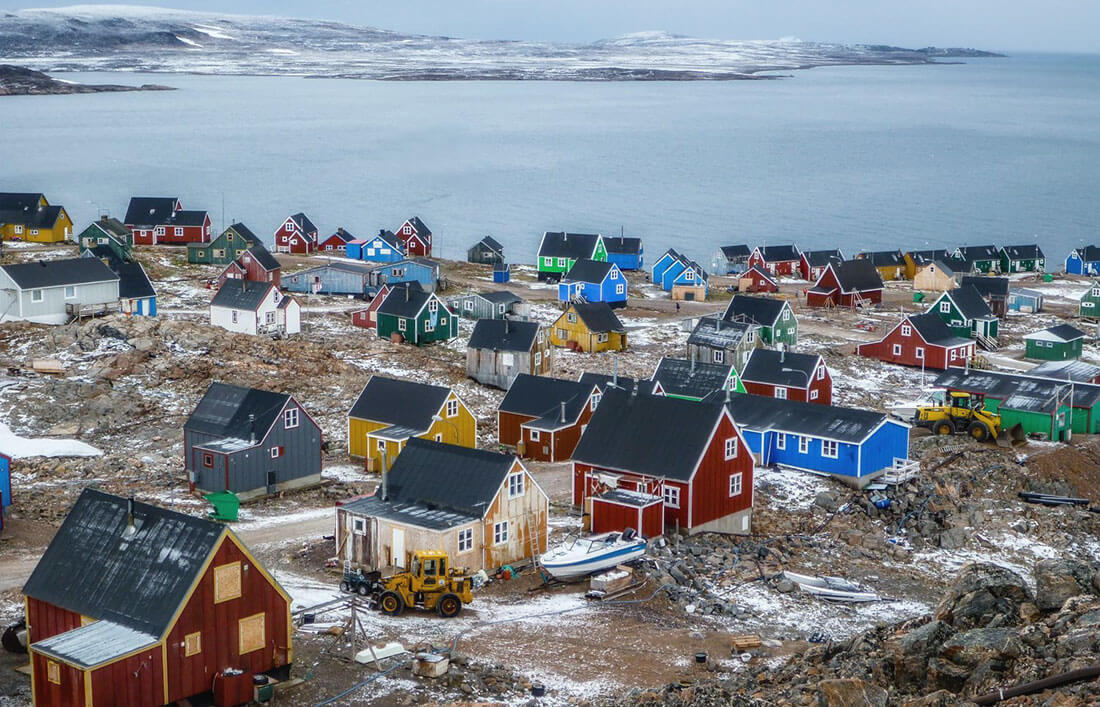 Иттоккортоормиит, Гренландия