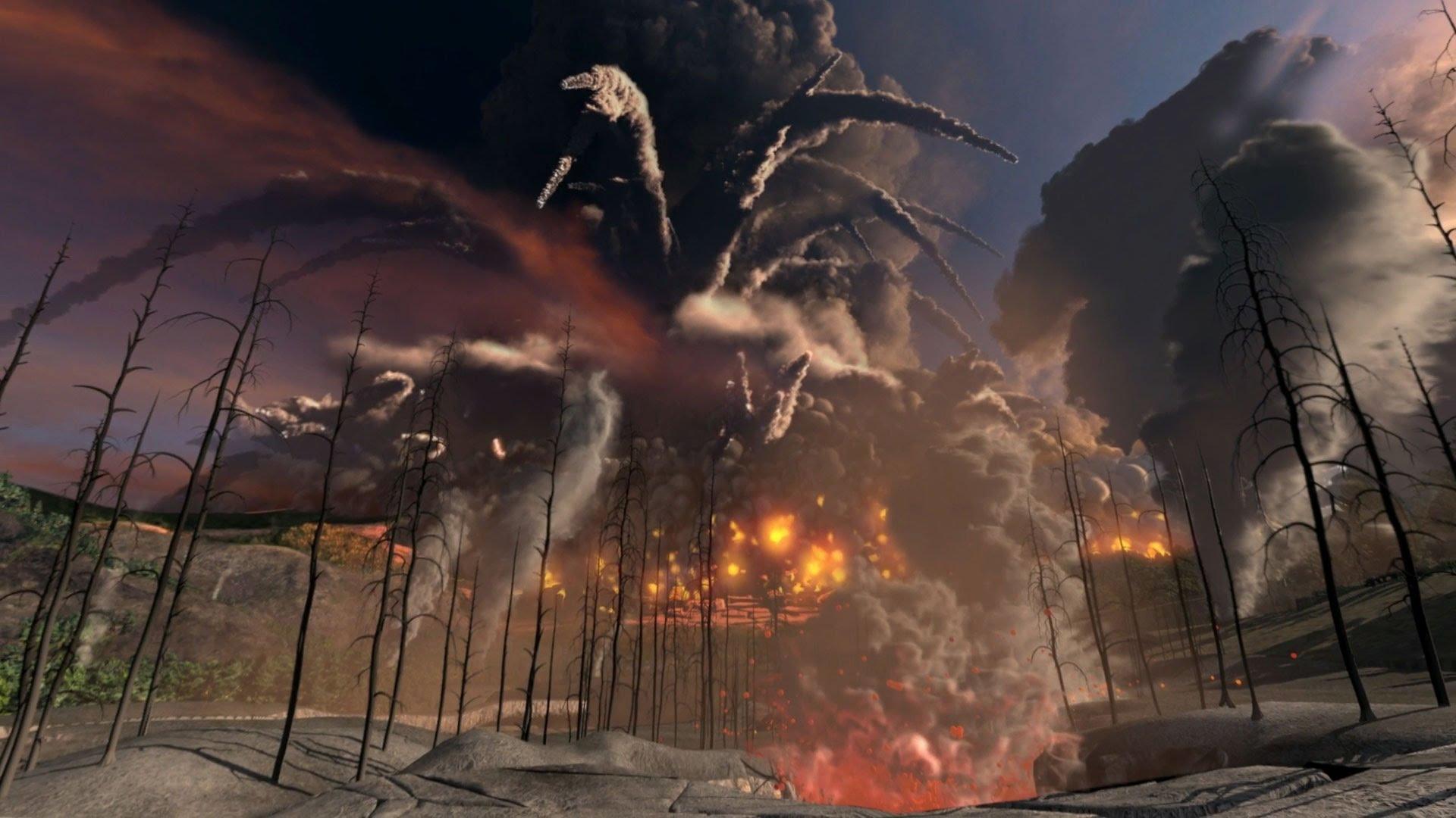 йеллоустоун вулкан