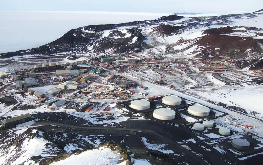 Станция МакМердо, Антарктида
