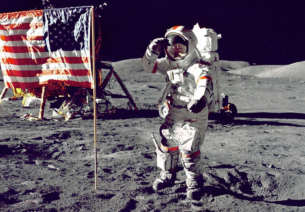 высадка на луну миф