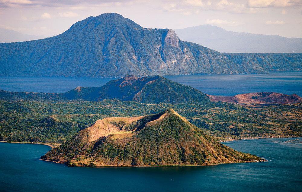 Вулкан-Пойнт остров внутри острова