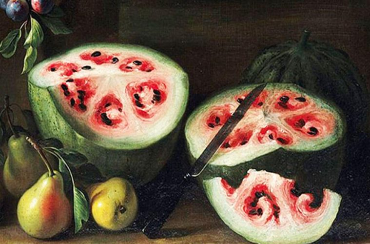 первые арбузы