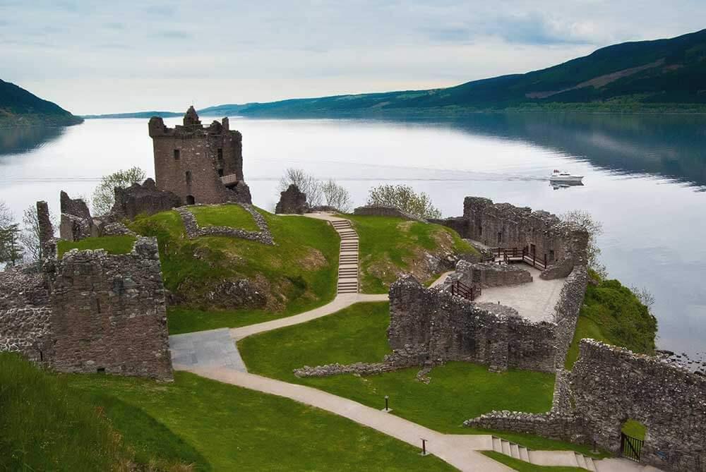 Лох-Несс, Шотландия - самая красивая страна в мире