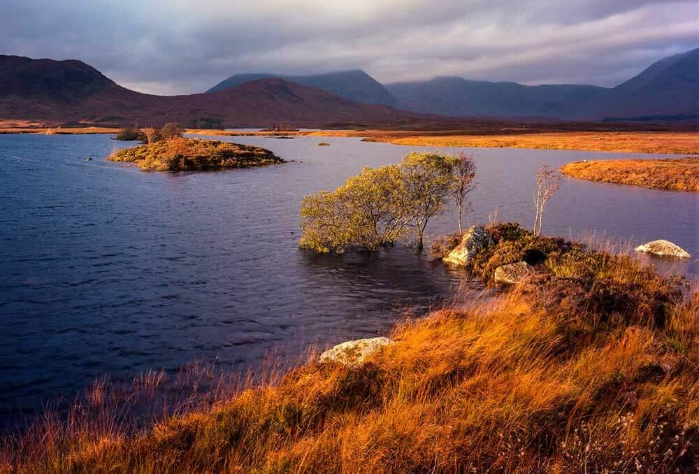 Раннох-Мур - шотландия