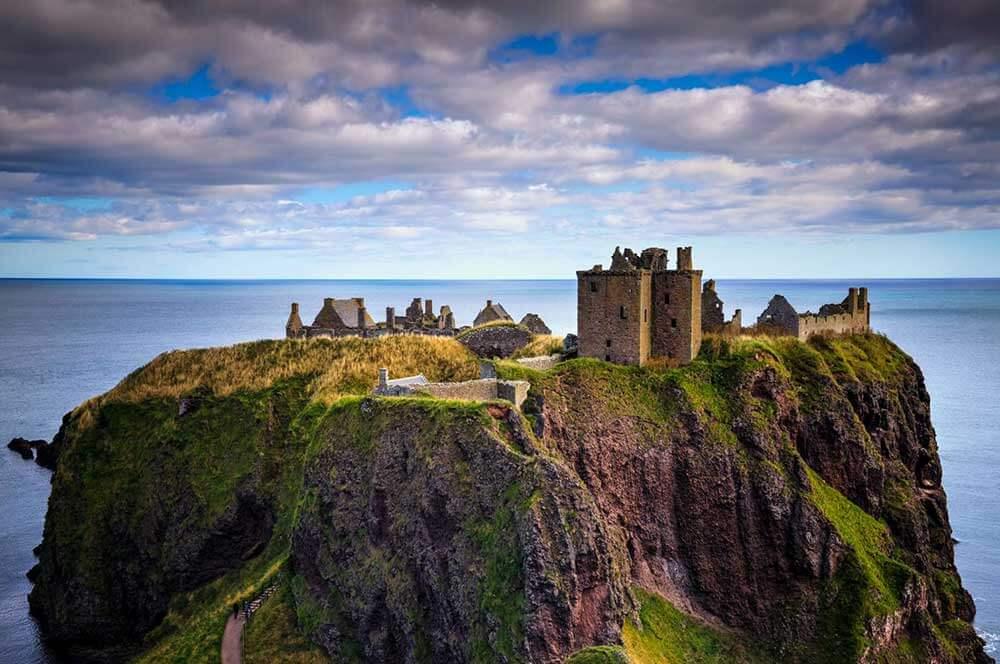Замок Данноттар - самая красивая страна в мире