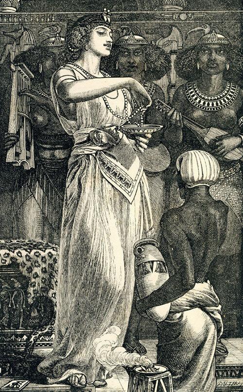 Клеопатра и жемчужина