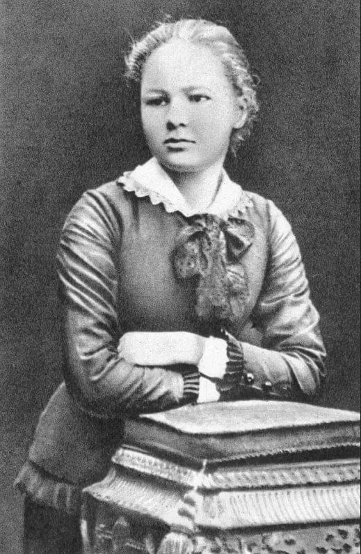 Мари Кюри в молодости