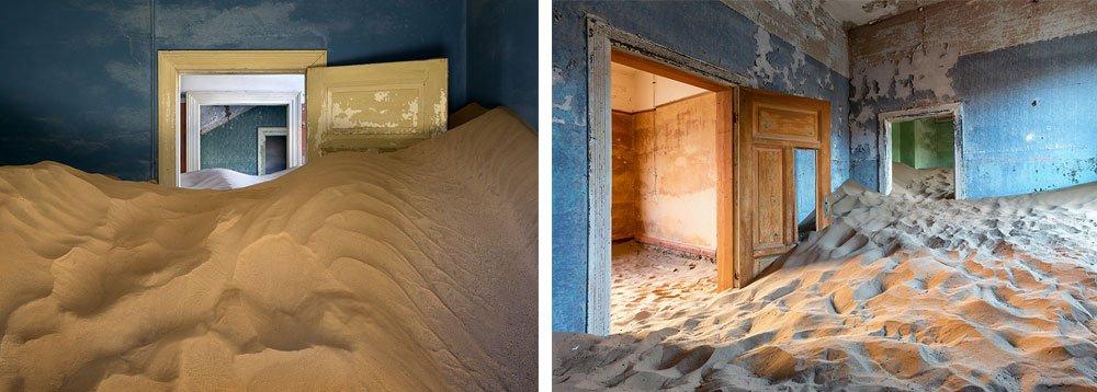 заброшенные места: Колманскоп, Намибия