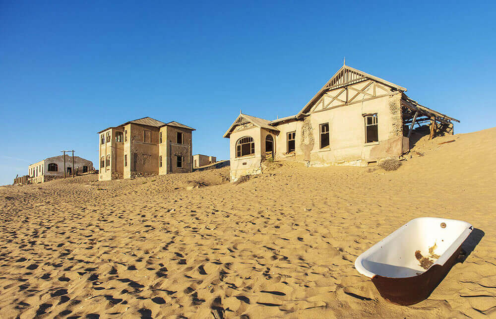 Колманскоп, Намибия