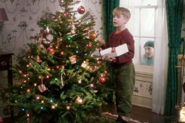рождестов один дома