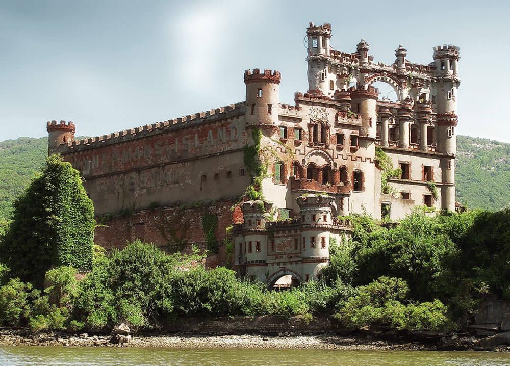 заброшенный замок Баннерман