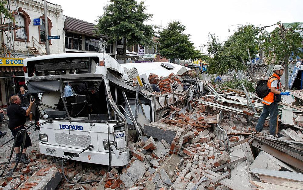 землятресение в Новой Зеландии 2011
