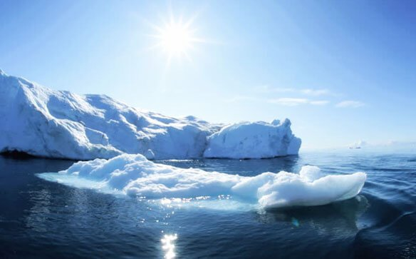таяние ледников и глобальное потепление
