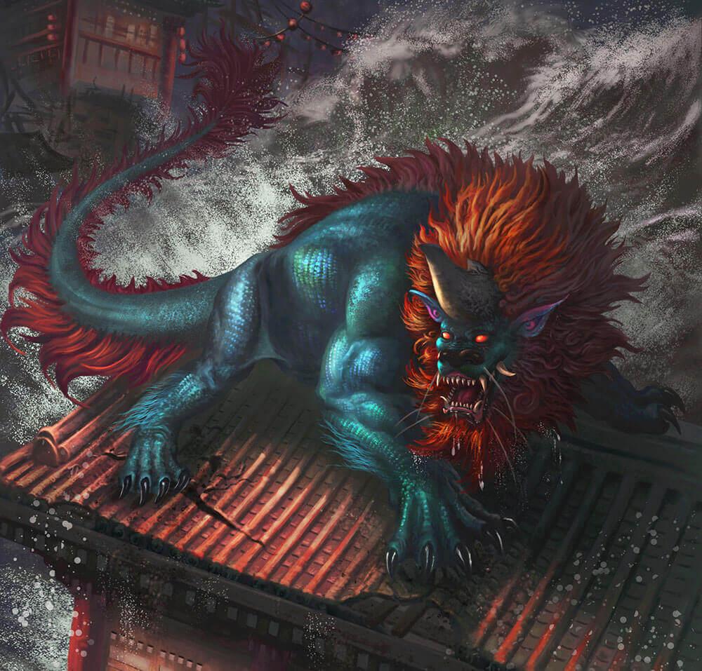 Мифологические существа: Ниан