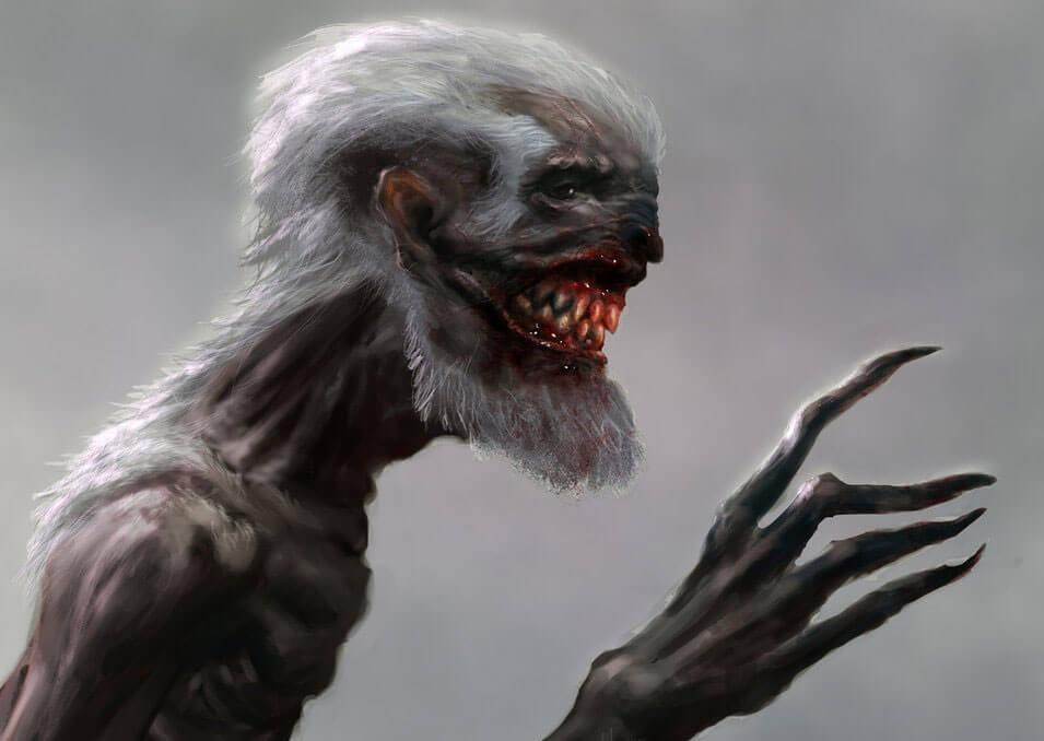 Мифологические существа: Вендиго