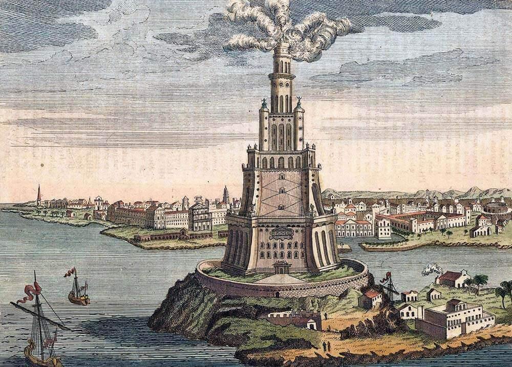 маяк изобрели древние греки