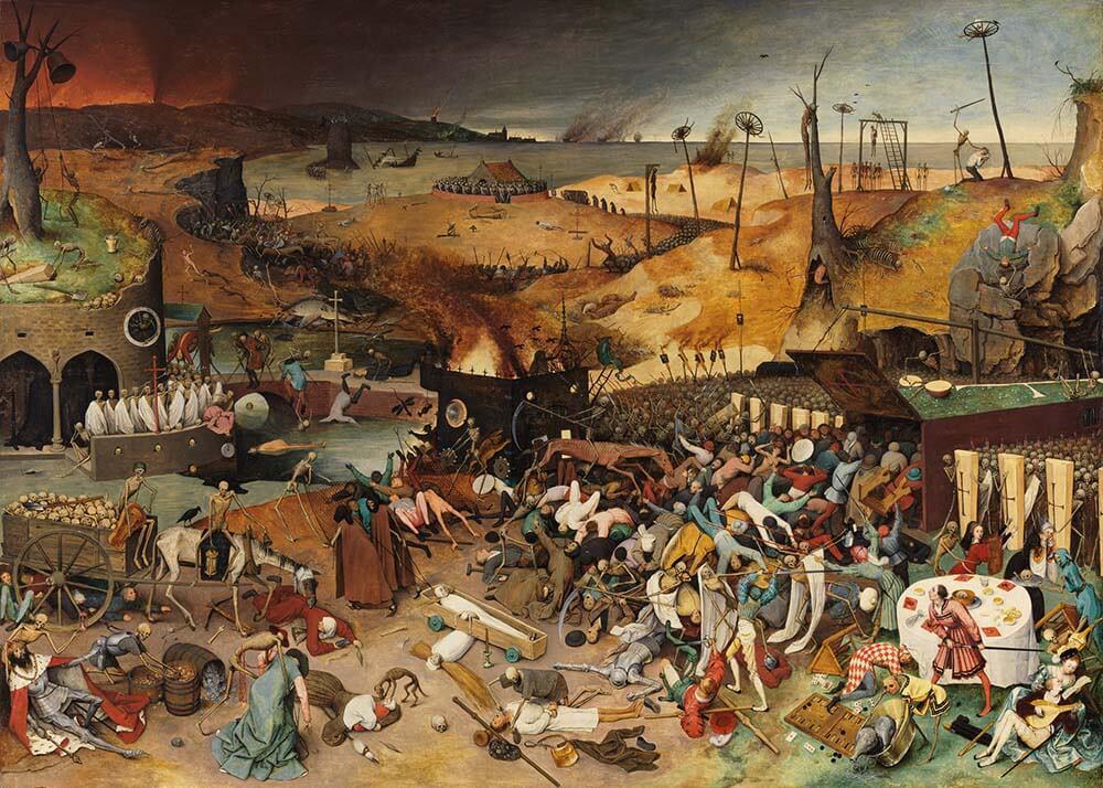 Эпоха Возрождения началась с чумы