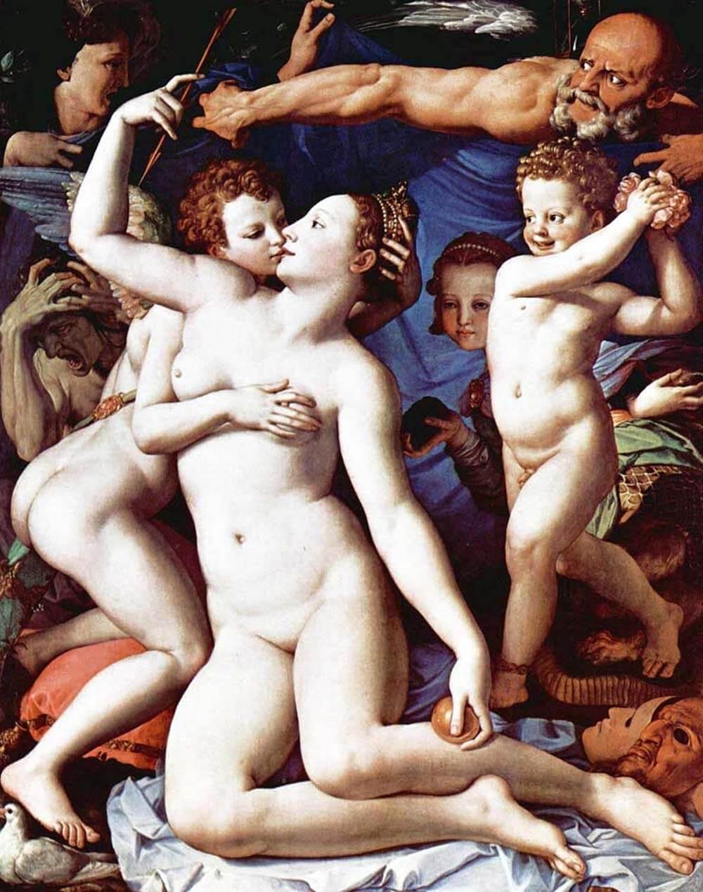 Аллегория с Венерой и Купидоном