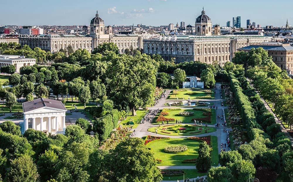 тренды 2021 - озеленение городов