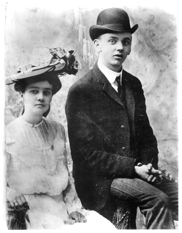 Эдгар Кейси с женой